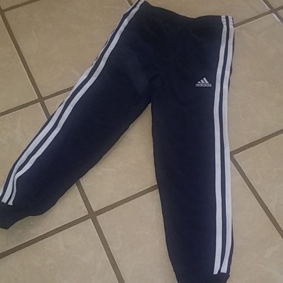 Jogging bottom adidas boys grey tracksuit bottoms Sweat pant Various sizes!